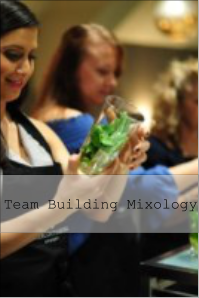 team building mixology classes